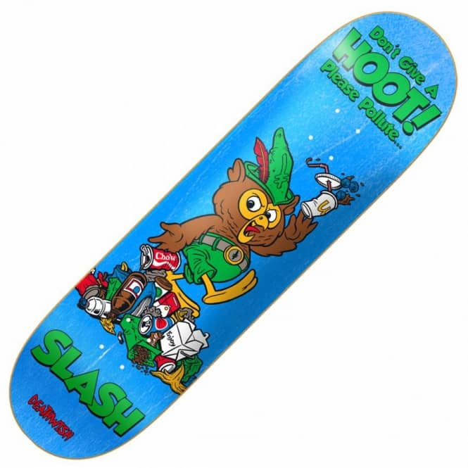 Deathwish Skateboards Slash Mascot Mayhem Skateboard Deck 8.3875''