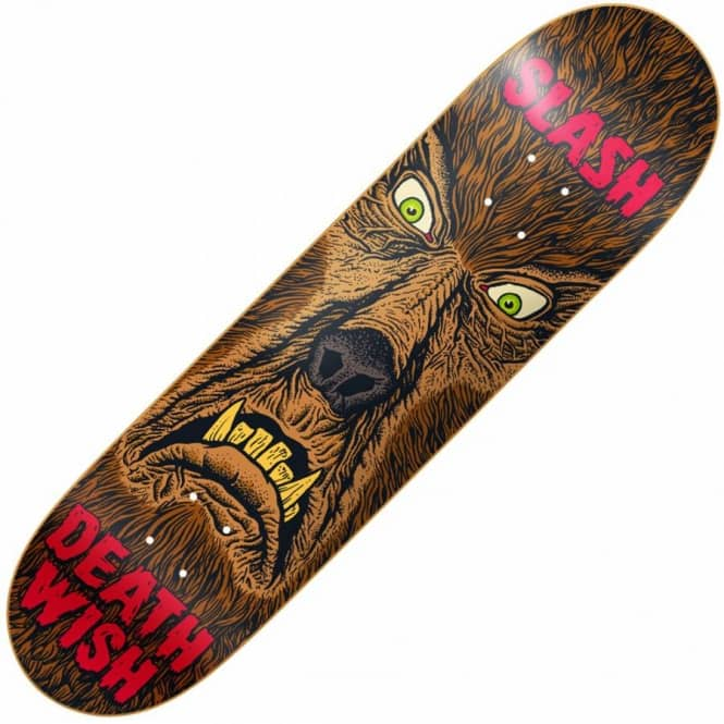Deathwish Skateboards Slash Nightmare Skateboard Deck 8.0