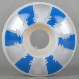 Spokes Silver/Blue Skateboard wheels 51mm