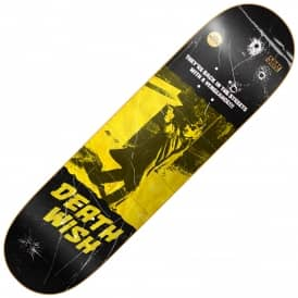 Deathwish Skateboards Team VHS Wasteland Skateboard Deck 8.5""