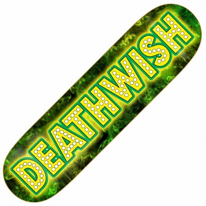 Deathwish Skateboards Wish Junt Skateboard Deck 8.06''