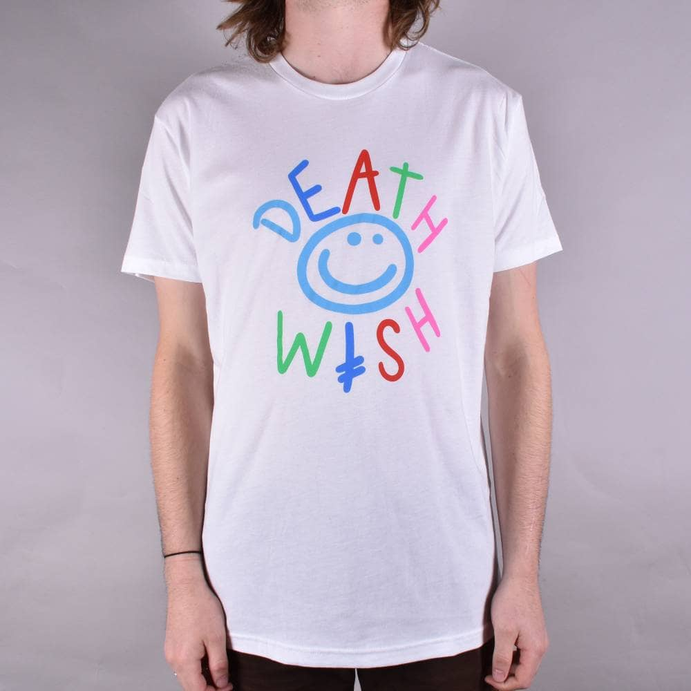 Deathwish Skateboards World Peace Skate T-Shirt - White - SKATE ... 796f7e37d