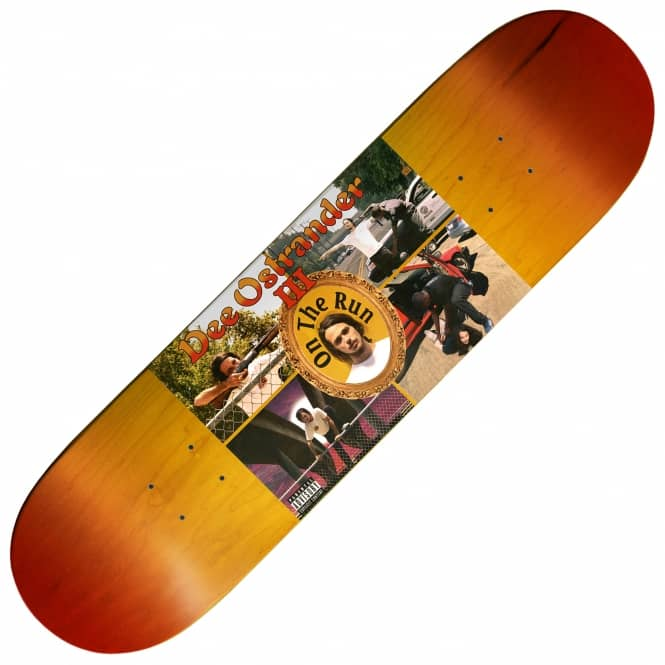 Baker Skateboards Dee Running Skateboard Deck 8.25