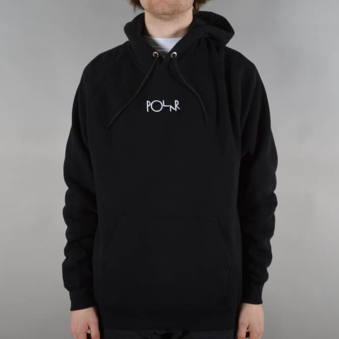 Polar Skateboards Default Pullover Hoodie - Black