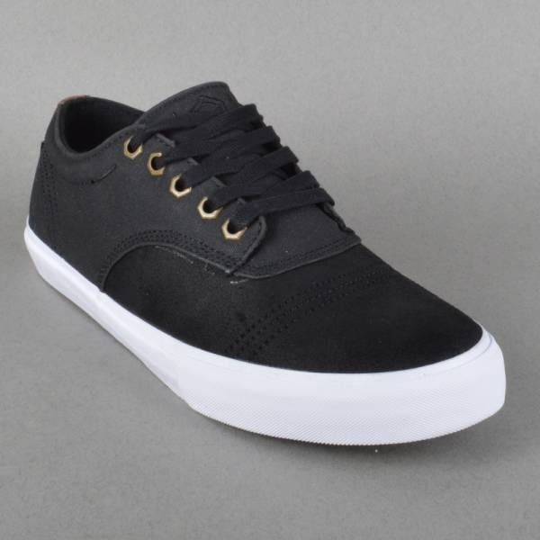 Dekline Shoes Jaws Skate Shoes - Black/White - Dekline ...