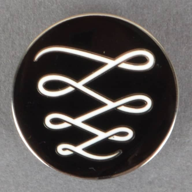 Descent Skateboards Descendant Pin Badge - Black