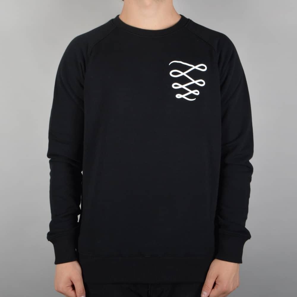 Descent Skateboards Og Custom Crewneck Sweater Black Skate