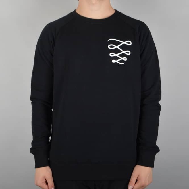 Descent Skateboards OG Custom Crewneck Sweater - Black