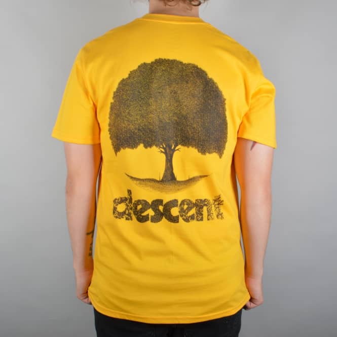 Descent Skateboards Seasonal Skate T-Shirt - Pastel Yellow