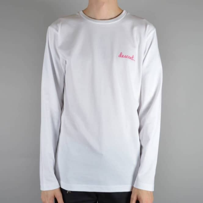 Descent Skateboards Summer Of 15 Longsleeve Skate T-Shirt - White