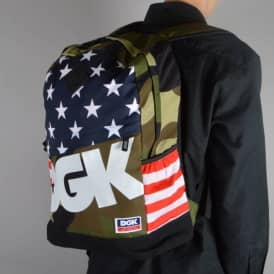 DGK Americana Angle Deluxe Backpack - Multi