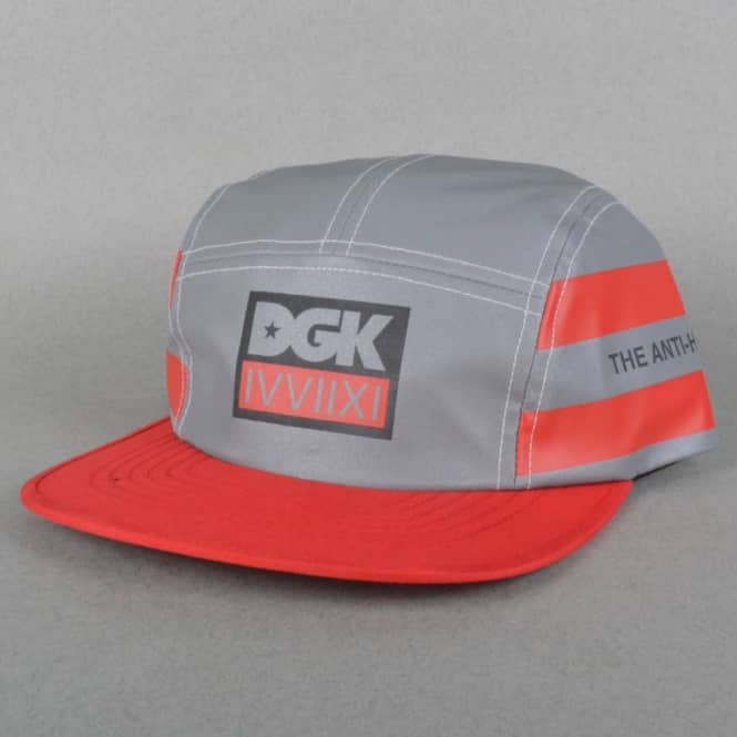 DGK Anti-Hesitator 5 Panel Cap - Reflective Silver