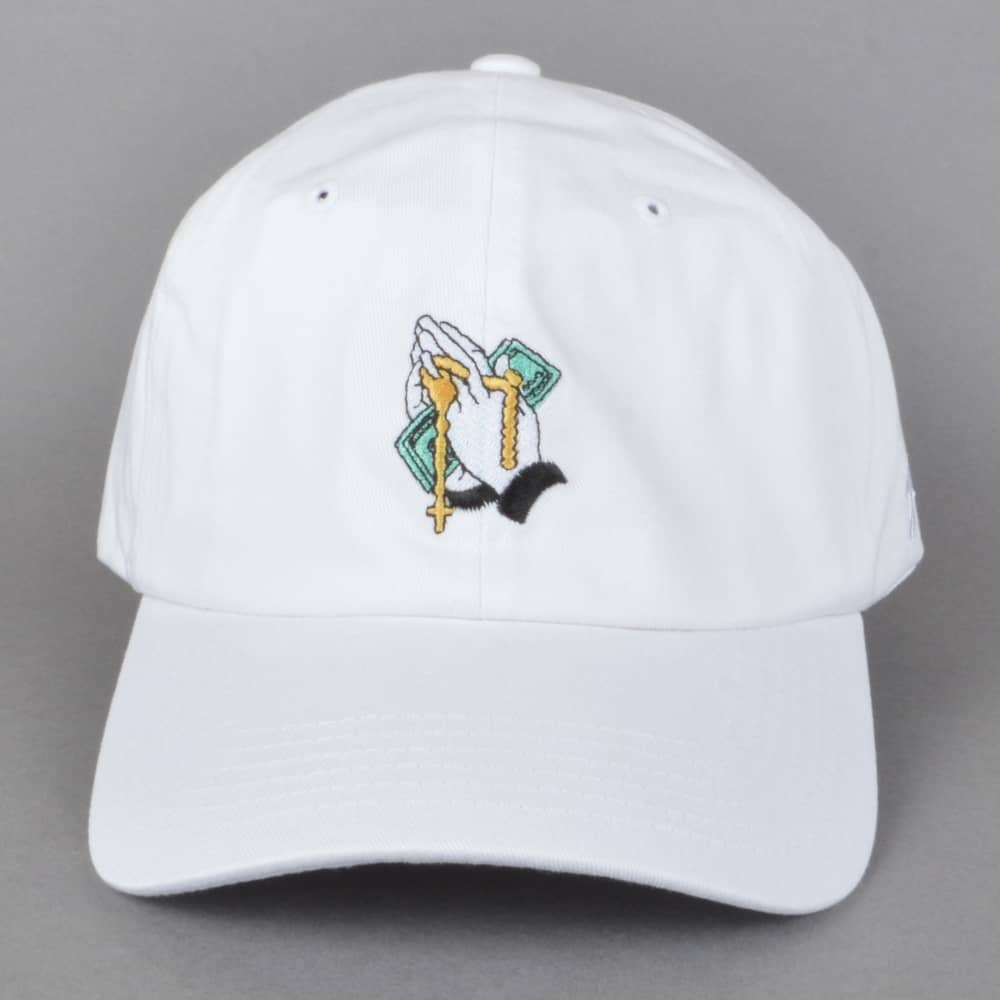 DGK Blessed Strapback Dad Cap - White - SKATE CLOTHING from Native ... 68916d21951
