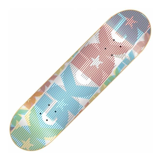 DGK Blur Team White Skateboard Deck 8.06
