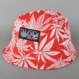 DGK Cannabis Cup Bucket Hat - Red