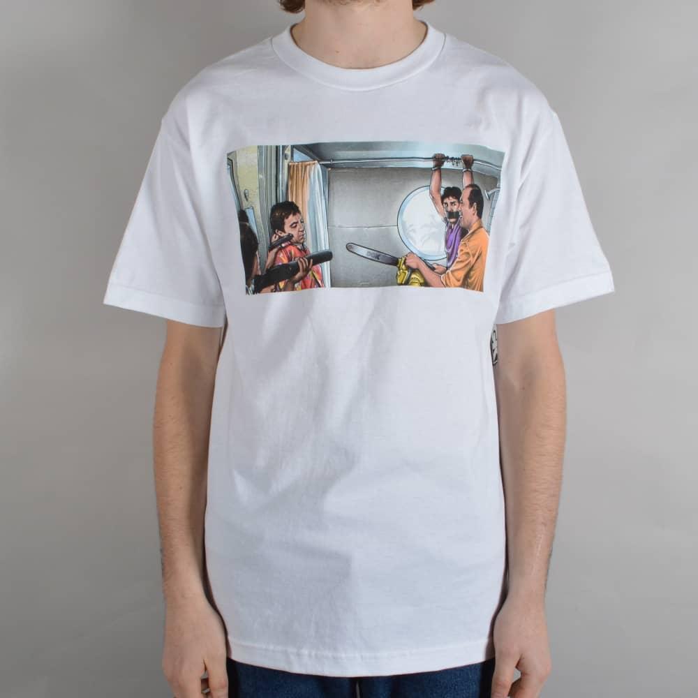 Chainsaw Skate T-Shirt - White