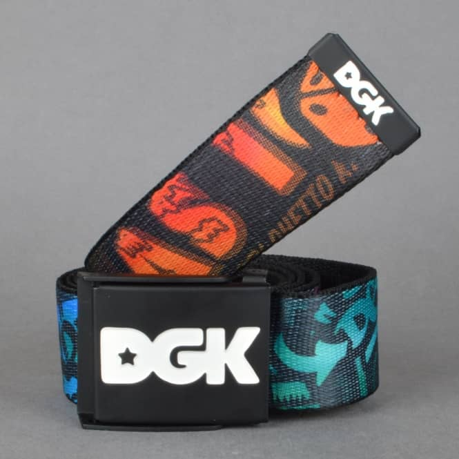DGK Collage Web Belt - Trippy