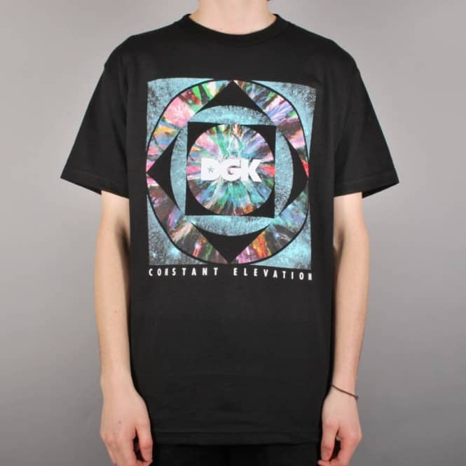DGK DGK Constant Elevation Skate T-Shirt - Black