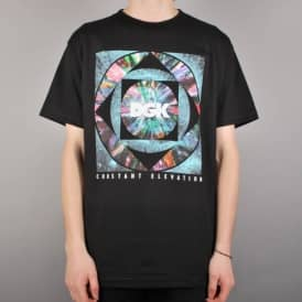 DGK Constant Elevation Skate T-Shirt - Black