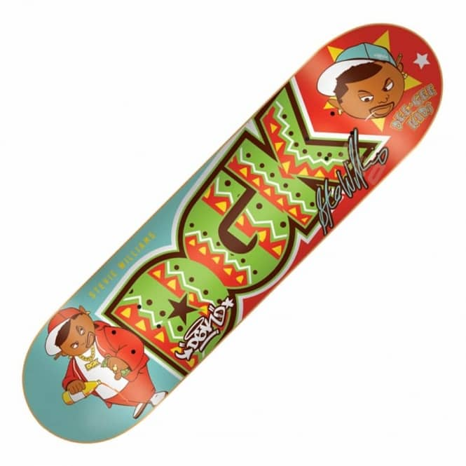 DGK Dee Gee Kids Williams Skateboard Deck 7.9""