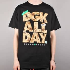 DGK Edible Skate T-Shirt - Black