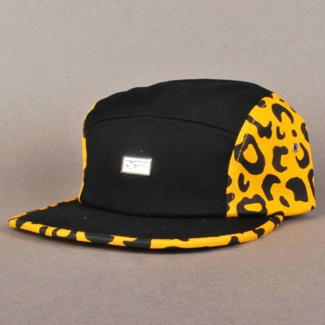 DGK DGK Fast Life 5 Panel Cap - Orange