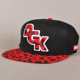 DGK Fast Life Snapback Cap - Red