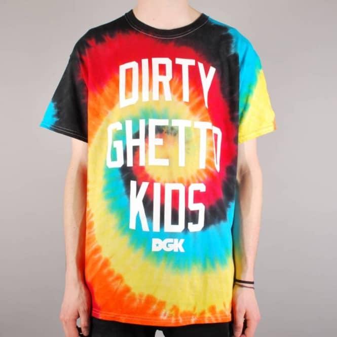 829ea22f DGK Good Times Eclipse Tie Dye Skate T-Shirt - Tie Dye - Skate T ...