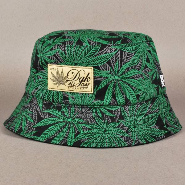 4bea1775a2e DGK Home Grown Reversible Bucket Hat - Black - Bucket Hats from ...