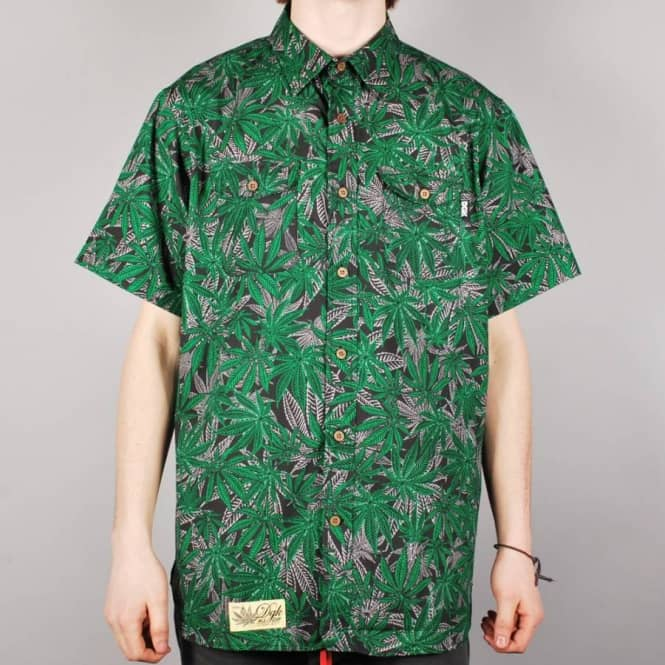 DGK DGK Home Grown Short Sleeve Shirt - Black