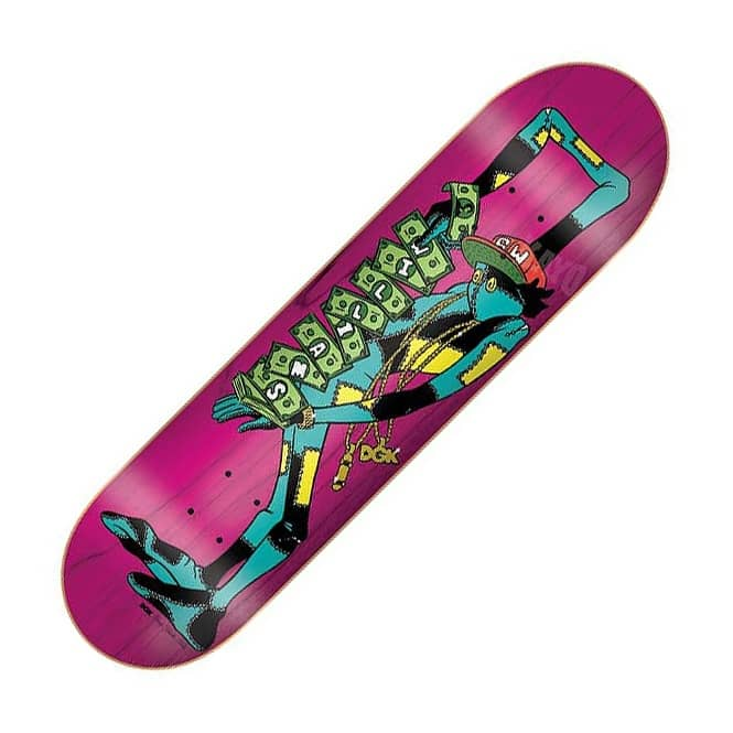 DGK DGK Stevie Williams Homage Skateboard Deck 7.9