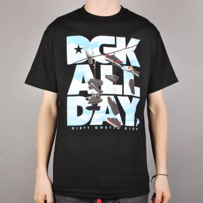 DGK DGK Wire Skate T-Shirt - Black