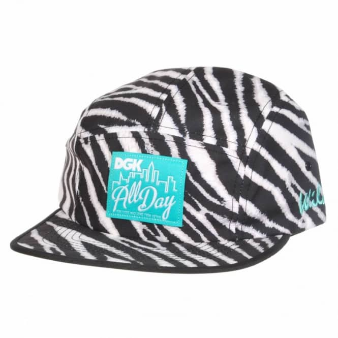 DGK DGK Zebra 5 Panel Cap - Black