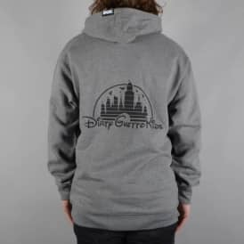 Dirty Pullover Hoodie - Grey Heather