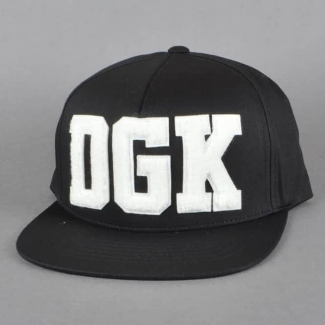 DGK Drop Out Snapback Cap - Black