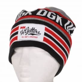 DGK Go Getters Beanie Grey/Red