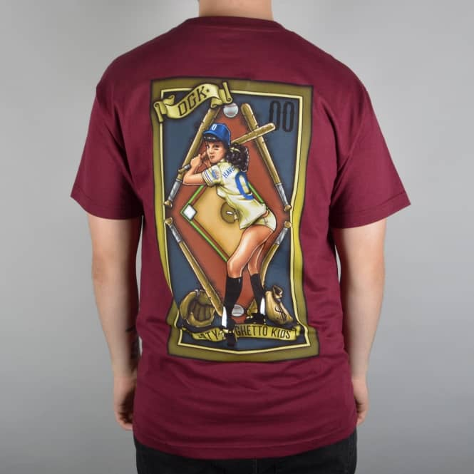 DGK Have Nots Skate T-Shirt - Burgundy
