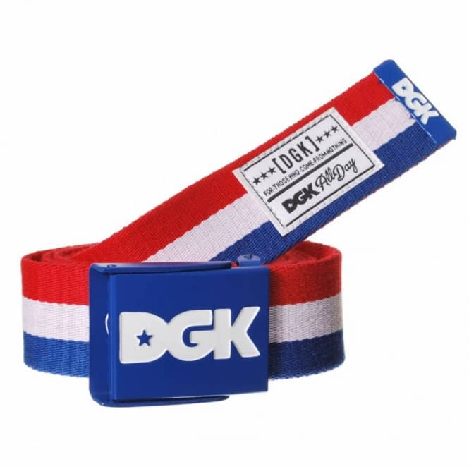 DGK DGK Int'ly Known Scout Web Belt - Blue