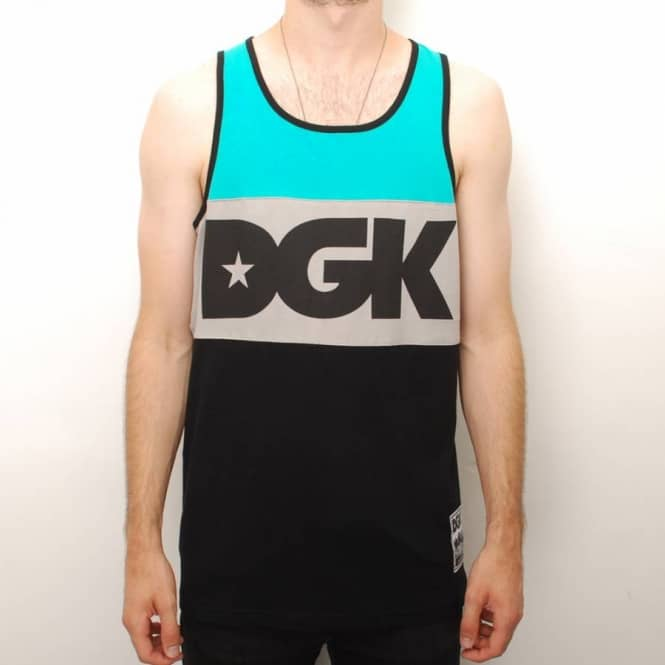 DGK DGK Int'ly Known Tank Top - Teal