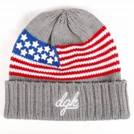 DGK Liberty Beanie - Athletic Heather
