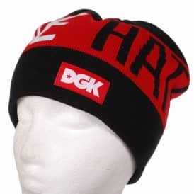 DGK Motivation Skate Beanie - Black