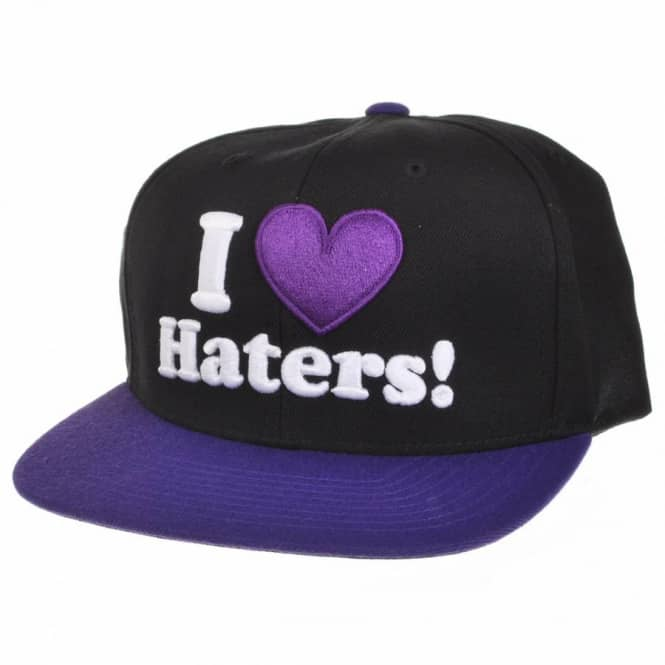 DGK DGK Motivation Snapback Cap - Black/Purple