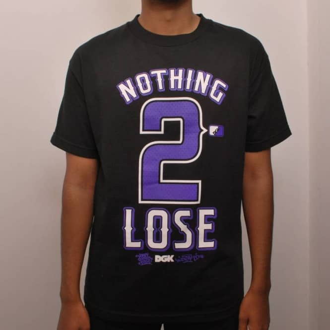 DGK DGK Nothing 2 Lose Skate T-Shirt Black