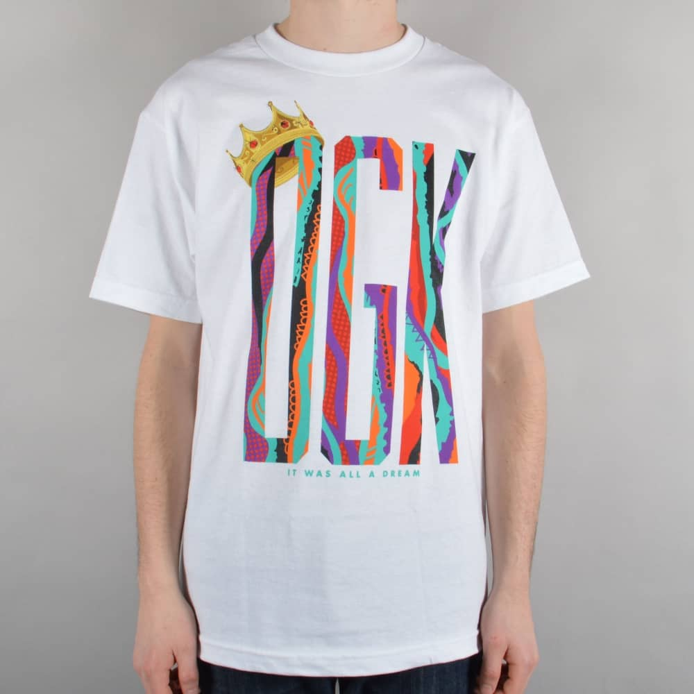 DGK Notorious Skate T-Shirt - White - SKATE CLOTHING from Native ... 86e4a46c7