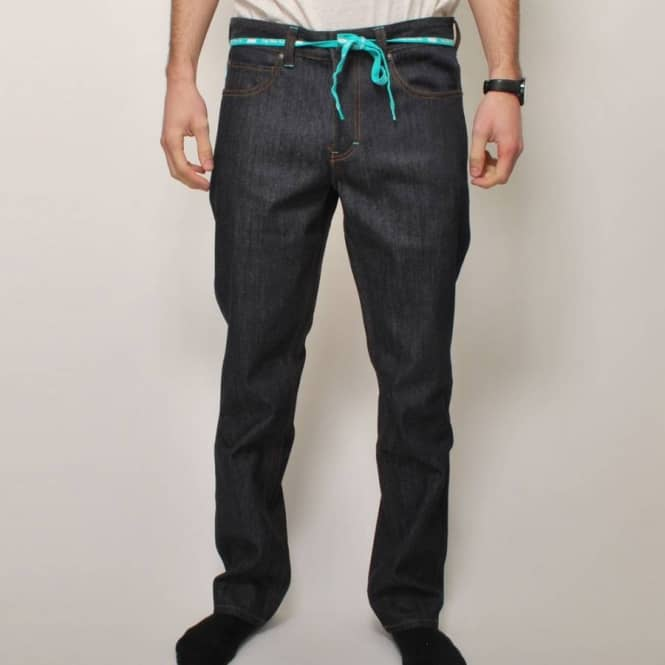 DGK DGK Peak 3 Straight Fit Denim - Indigo Raw