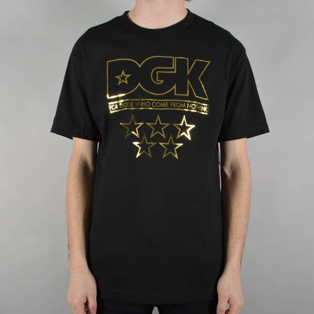 DGK Shine Skate T-Shirt - Black - SKATE CLOTHING from Native Skate ... b97fd00ee