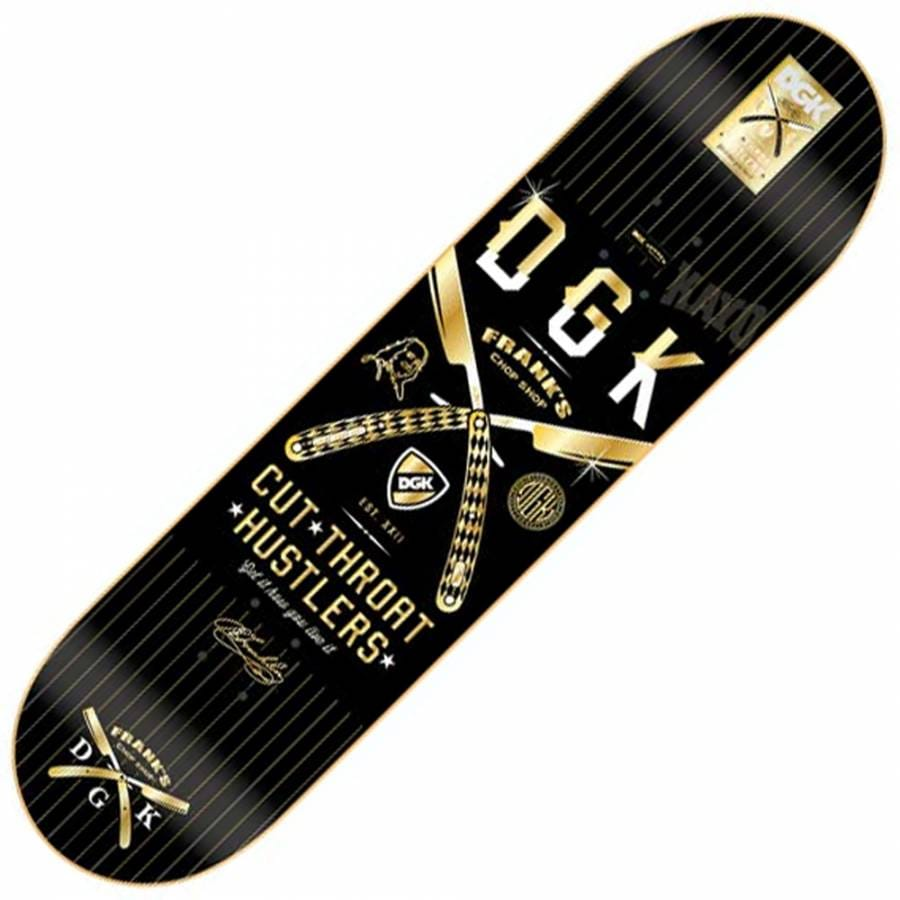 DGK DGK x Frank's Chop Shop Cut Throat Hustlers Skateboard ...