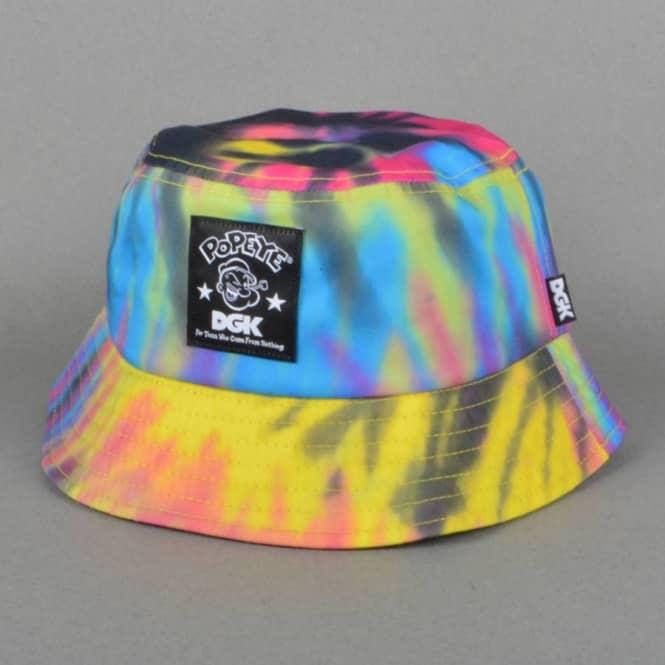 DGK x Popeye Bucket Hat - Multi 0adb413b879