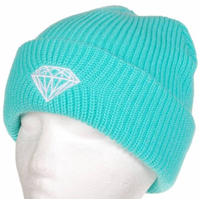 00c6c92e676 Diamond Supply Co. Diamond Brilliant Fold Beanie - Diamond Blue ...