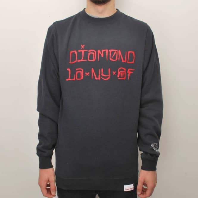 Diamond Supply Co. Diamond Cities Crew - Navy